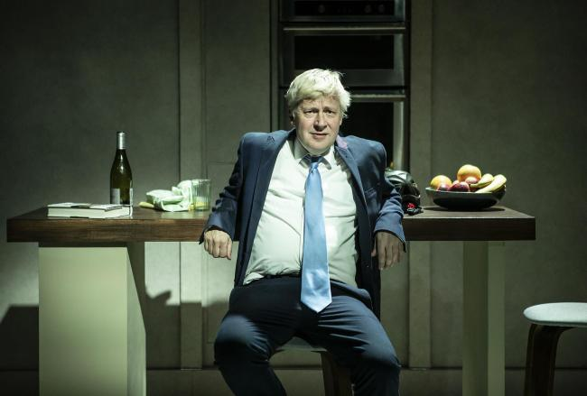 Will Barton as Boris Johnson in The Last Temptation of Boris Johnson. Picture: Pamela Raith