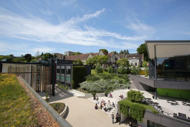 The University of Winchester's West Downs Quarter was due to host TEDxWinchester this month