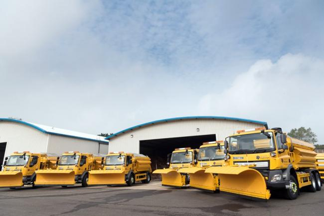 Gritters heading out in Southampton as temperatures get set to plunge
