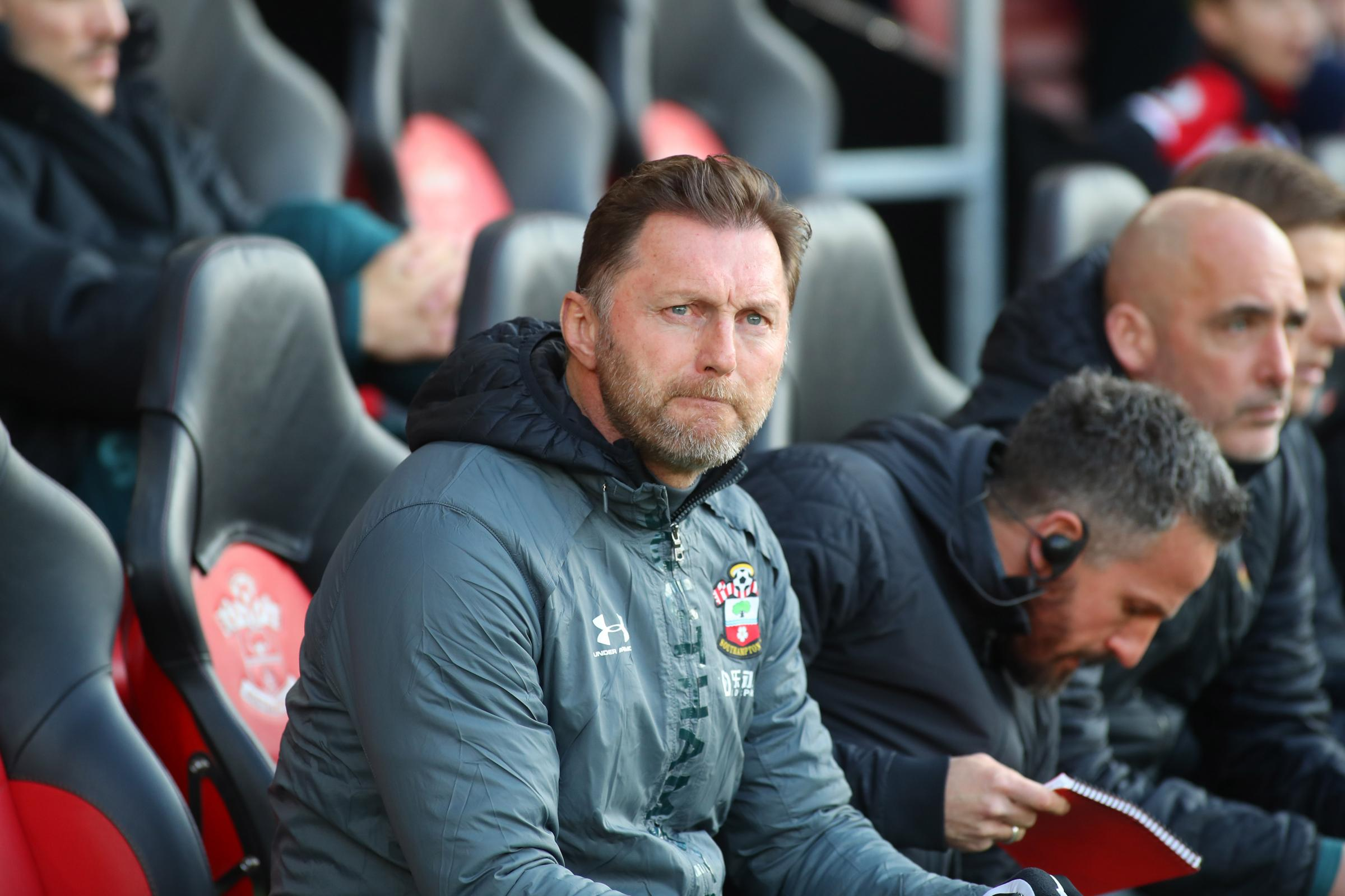 Southampton boss Ralph Hasenhuttl is happy with his squad