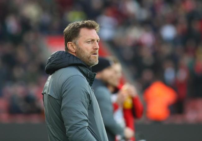 Southampton manager Ralph Hasenhuttl during the FA Cup match between  Southampton and Spurs.  Photo by Stuart Martin..