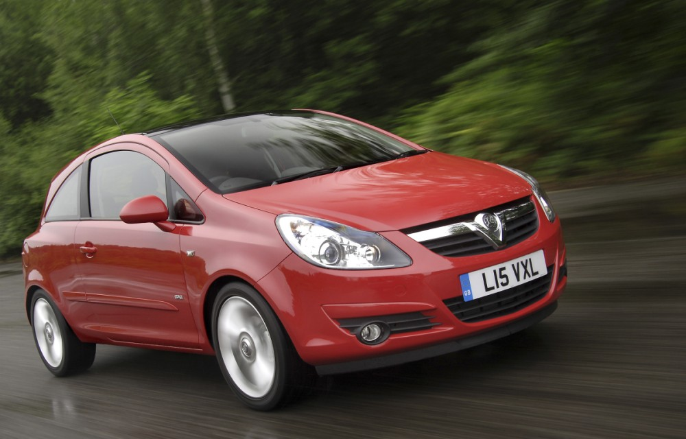Stock image of a Vauxhall Corsa