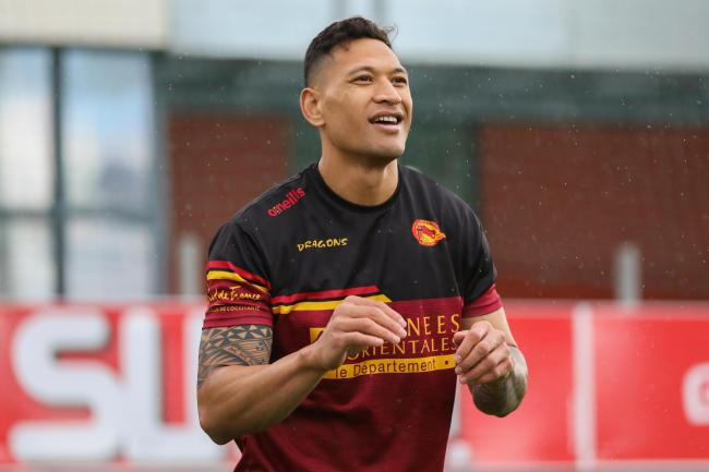 Catalans Dragons' signing of Israel Folau has been highly controversial