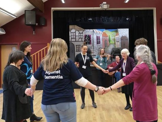Moving in the Moment - dementia friendly dance