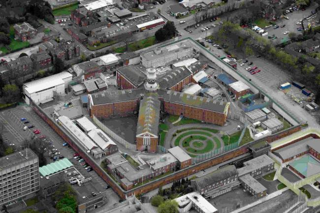 Aerial eye in the sky pics - Winchester - Prison.