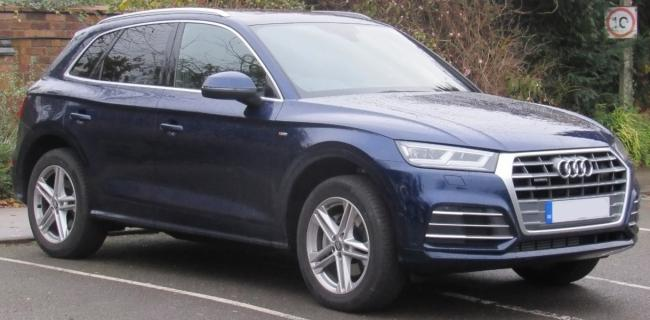 Audi Q5, similar to the one stolen in Romsey. Photo: Test Valley Police