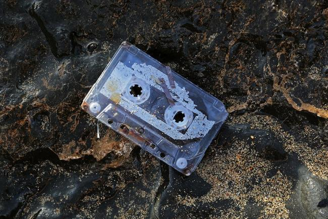 A mixtape that was lost in the 1990s which washed up intact on a beach in Fuerteventura almost 25 years later