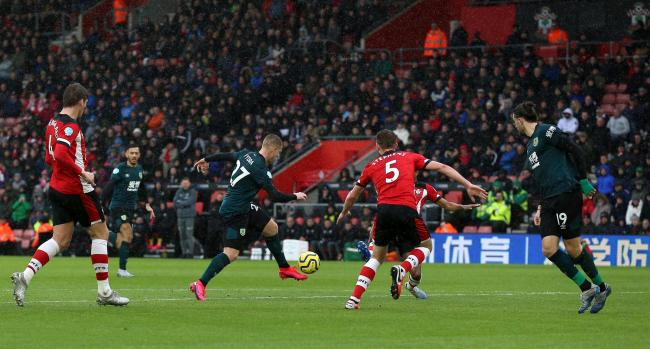 Southampton 1 Burnley 2: Saints denied late penalty by VAR