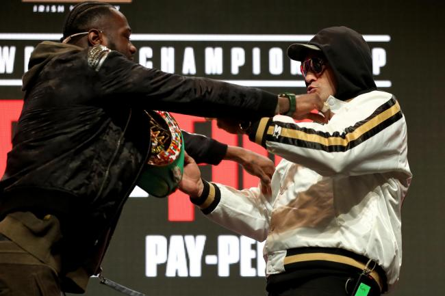 Deontay Wilder and Tyson Fury will go toe-to-toe at the MGM Grand in Las Vegas