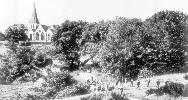 Highfield in the 1890s