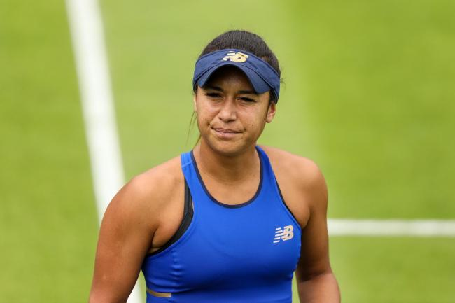 Heather Watson is