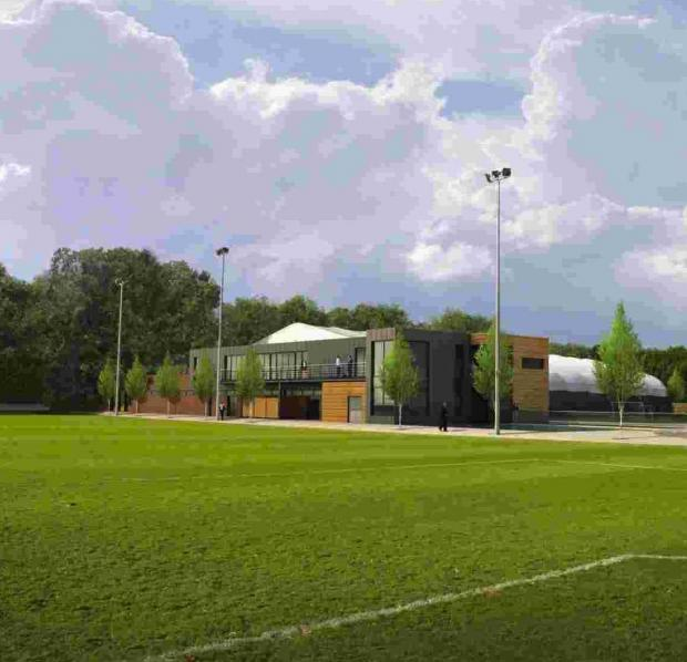 An artist's impression of the improved Staplewood.