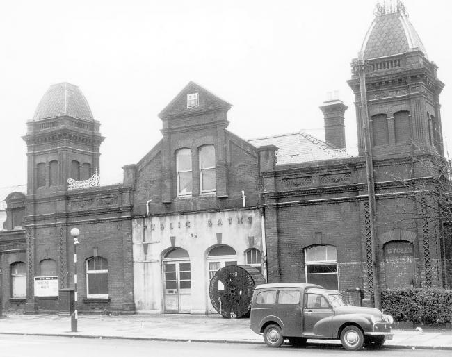 Southampton Corporation Baths - 1964