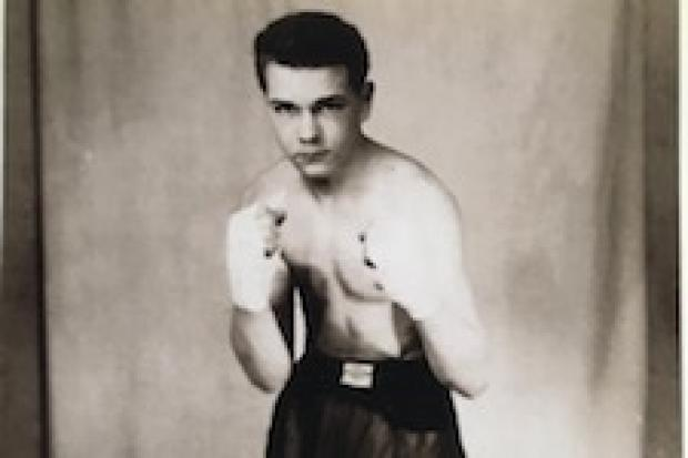Don Robertson in his boxing days