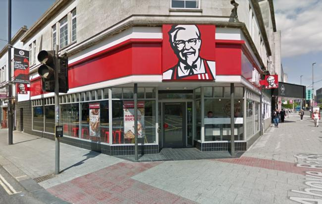 KFC, Above Bar Street, Southampton