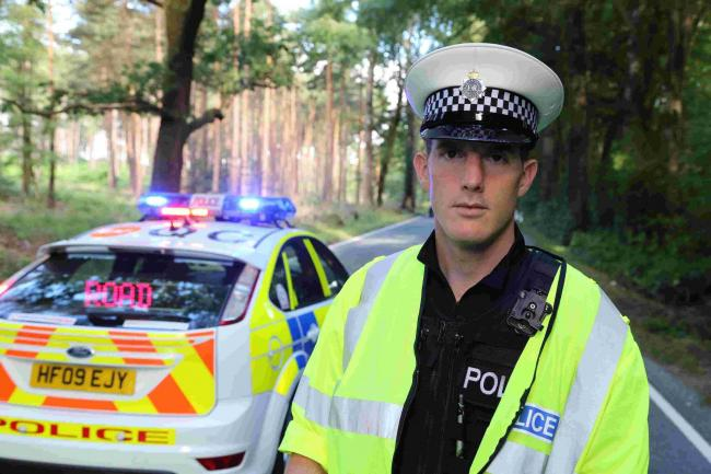 Tim Brehmer, a police constable with Dorset Police