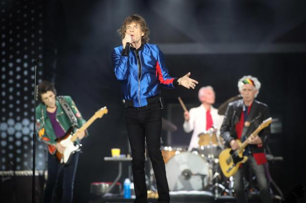 The Rolling Stones at St Mary's Stadium.