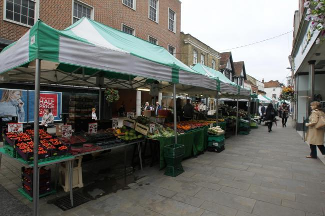 Winchester Street Market returns today