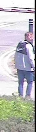 An image of the man police want to speak to in connection to the attempted robbery