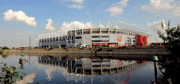 The site of Saints' promotion? Middlesbrough's Riverside Stadium