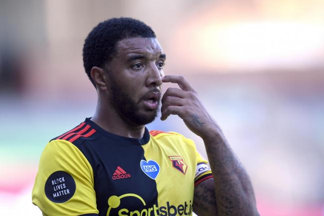 Watford captain Troy Deeney