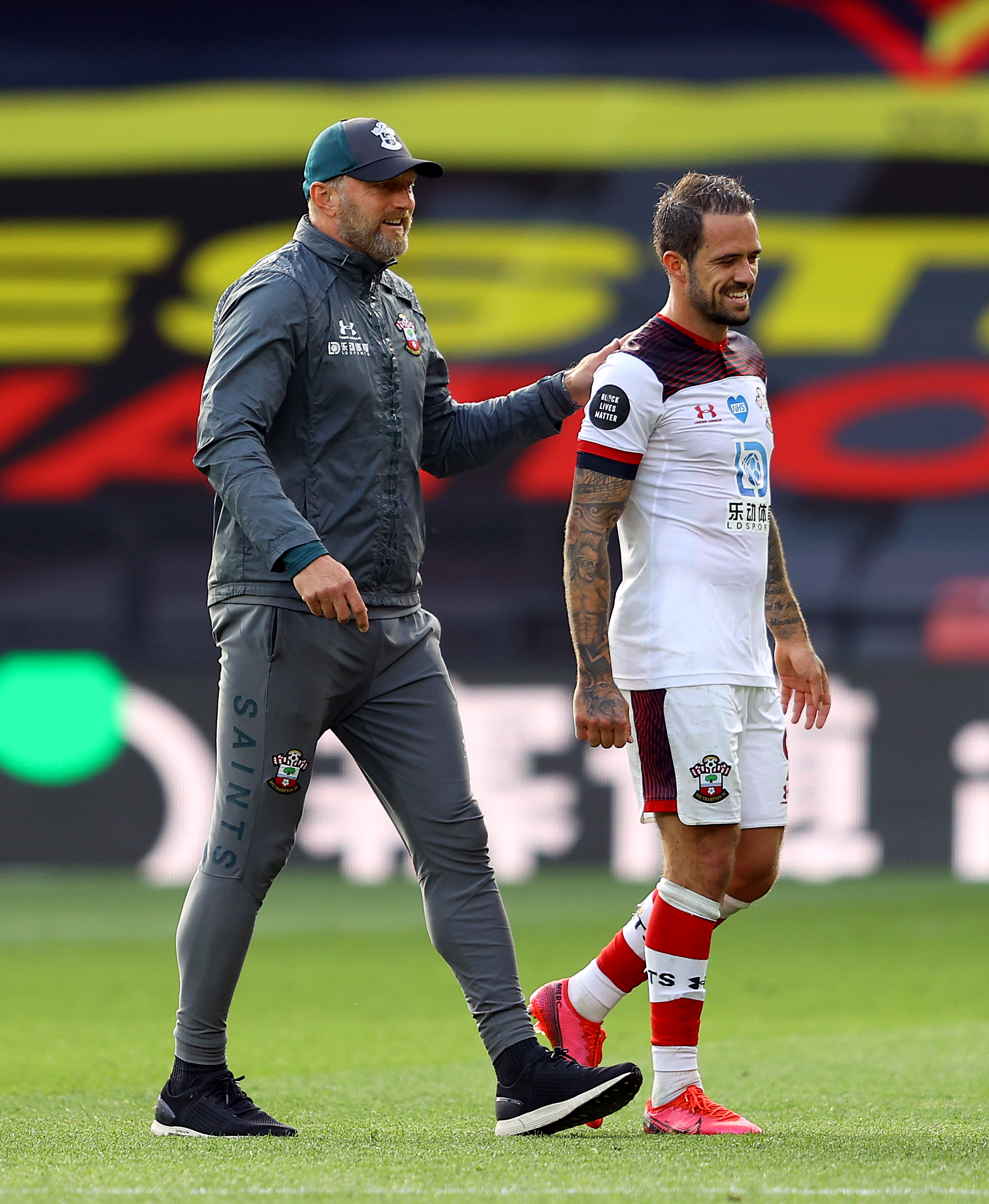 Ralph Hasenhuttl's confident Danny Ings will remain at St Mary's
