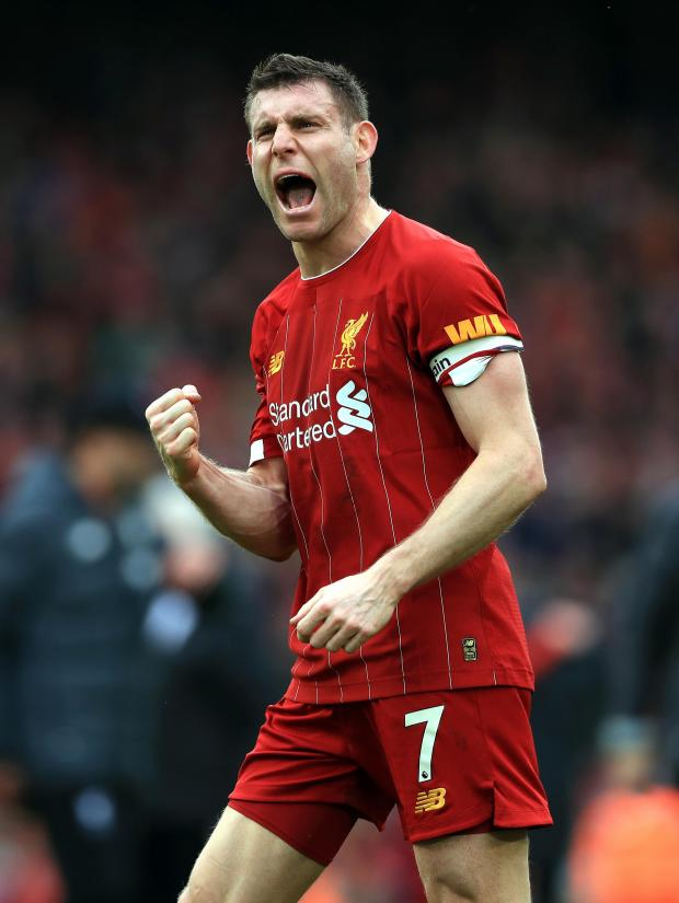 Daily Echo: Liverpool's James Milner