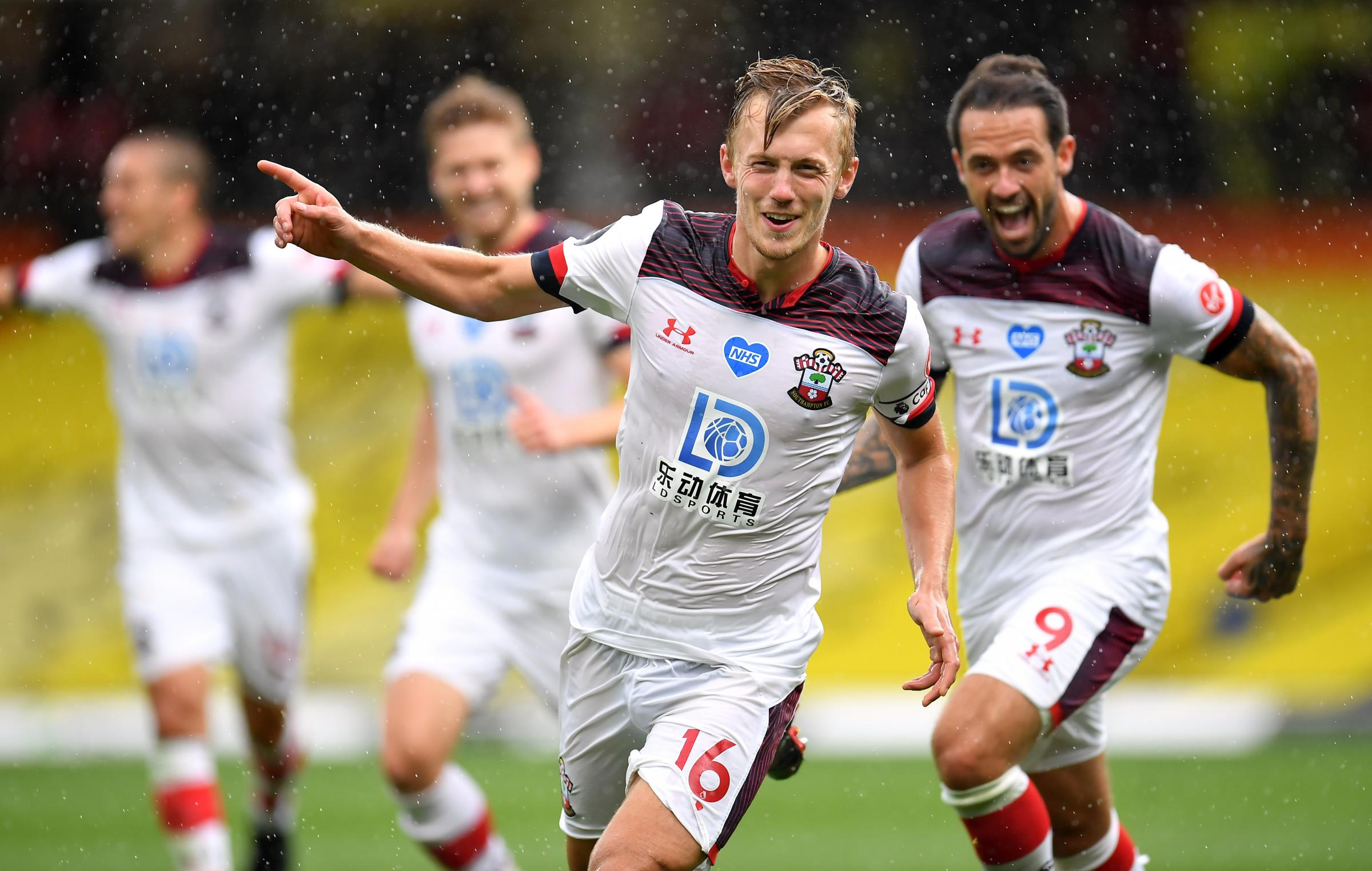 James Ward-Prowse talks being handed the captaincy, Pierre's reaction and Man City