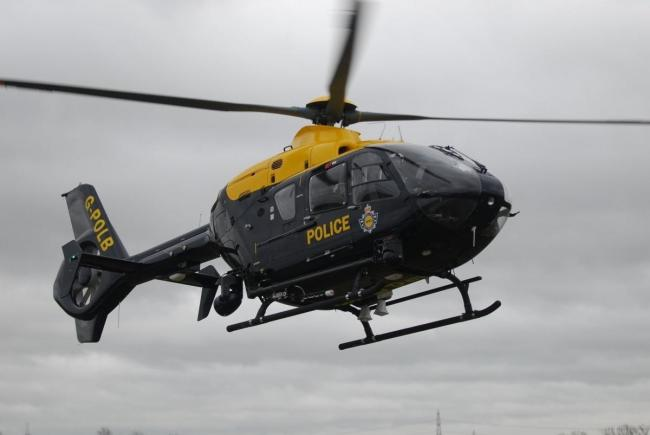 National Police Air Service helicopter launched over Southampton