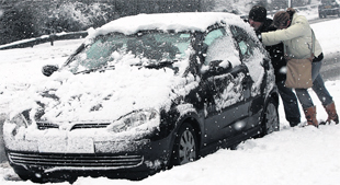 More snow brings travel disruption