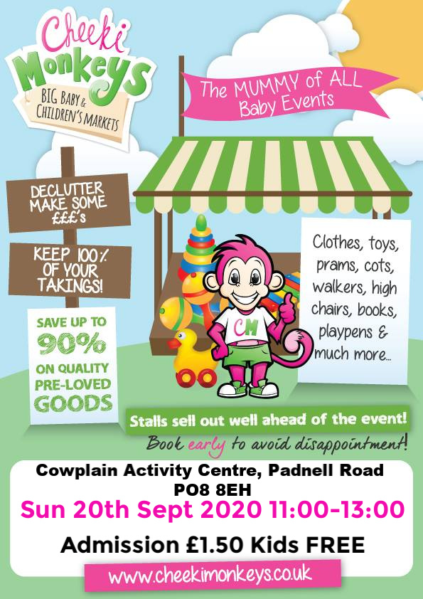 Cheeki Monkeys BIG Baby & Children's Market-Waterlooville