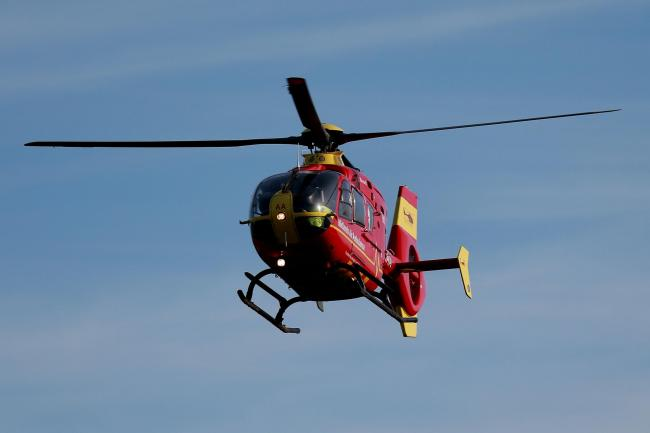 Air ambulance called to serious crash on M27 near Southampton