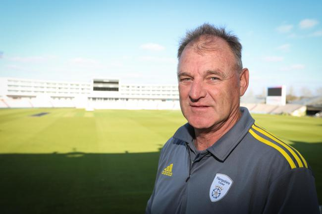 Hampshire head coach Adi Birrell