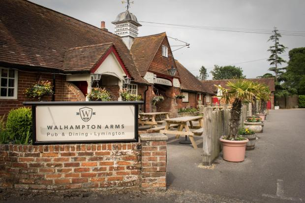 Walhampton Arms, Lymington