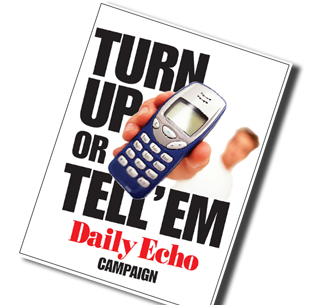 Daily Echo: Turn Up or Tell 'Em: It's good for the NHS's health