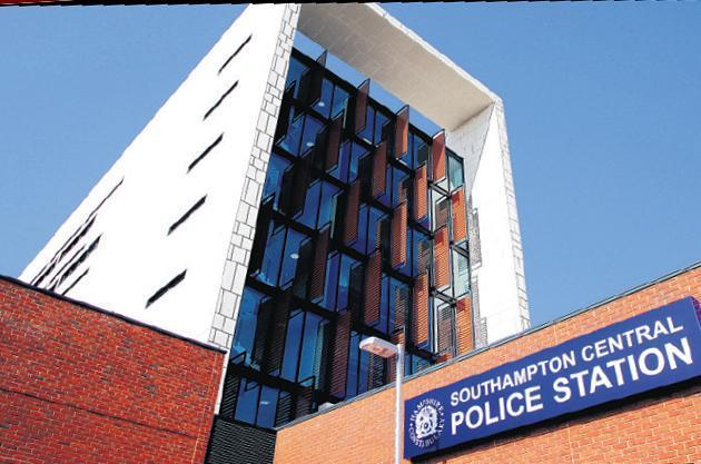Southampton Central police station.