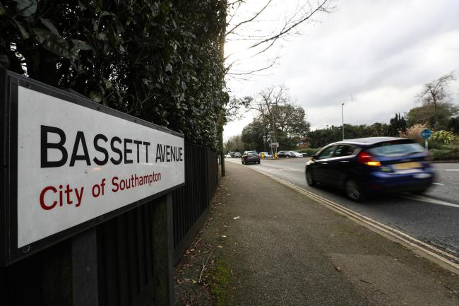 Photo Stuart Martin - Bassett Avenue and The Avenue in Southampton ahead of road works and road closure - Pictured is Bassett Avenue.