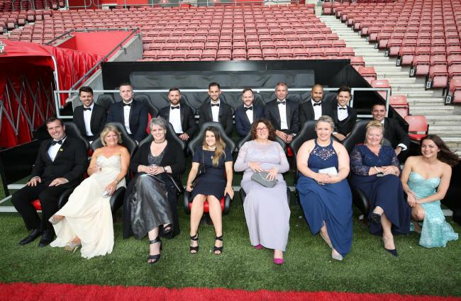 Some of last year's guests at the South Coast Business Awards at St Mary's Stadium