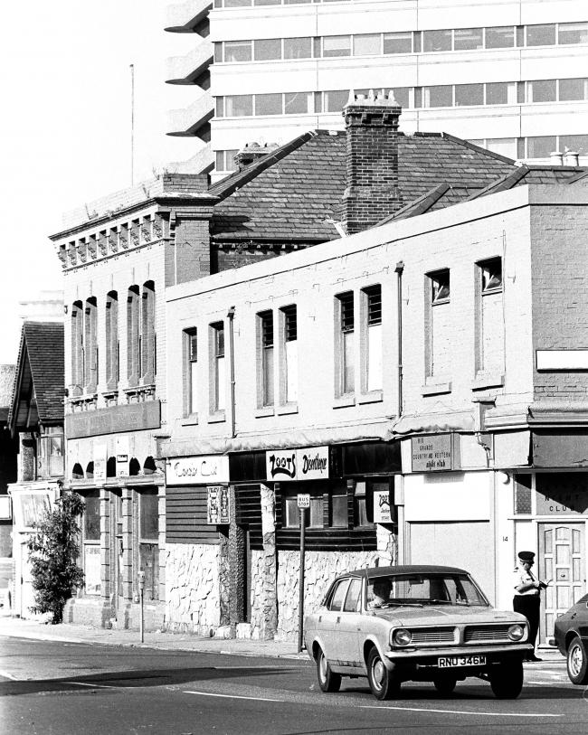 St Mary Street in 1980