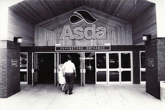 Opening of Asda in Totton 1983