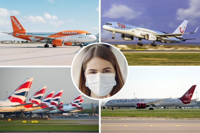 Face mask rules: British Airways, easyJet, Jet2, Ryanair, TUI and Virgin Atlantic give update. Picture: Newsquest