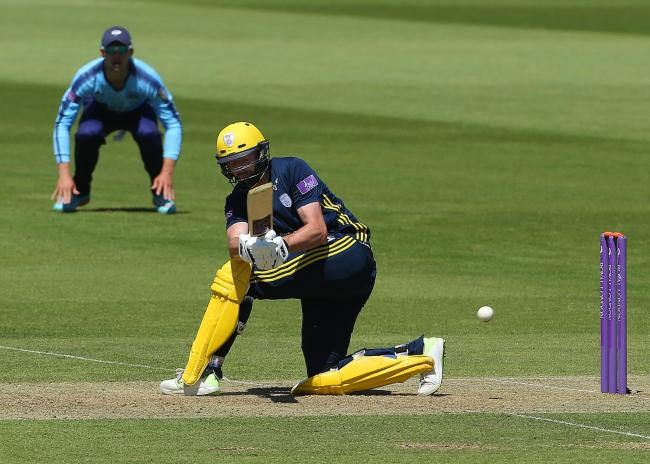 Hampshire's James Vince (Picture: Mark Kerton/PA)
