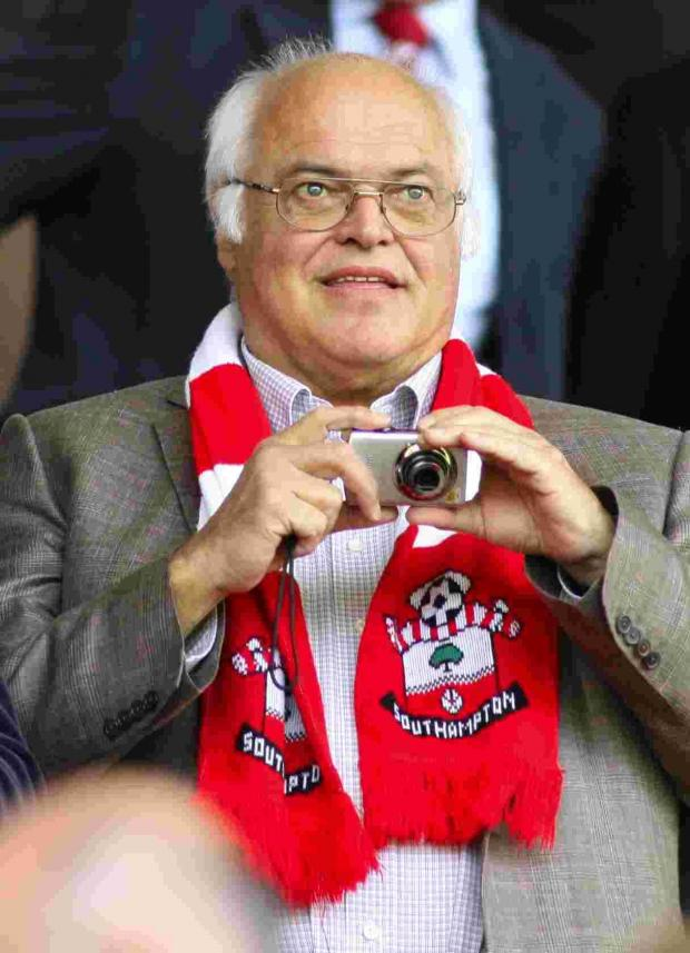 Markus Liebherr - made himself a St Mary's legend