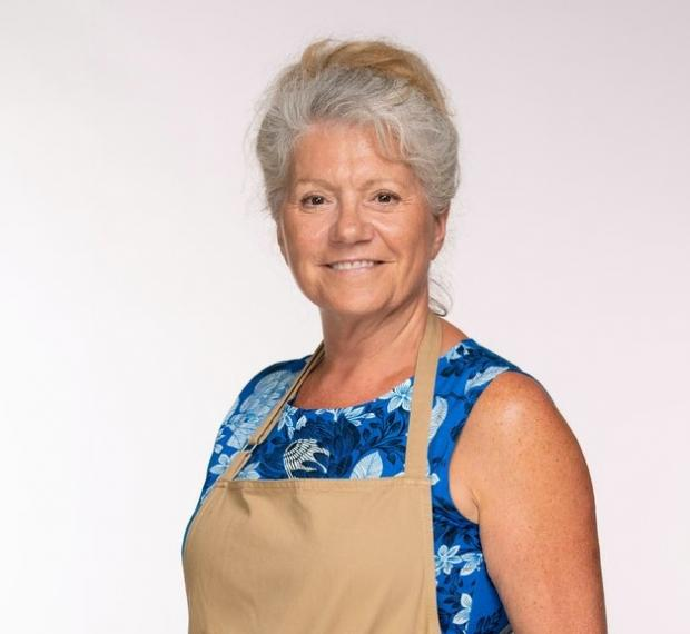 Daily Echo: Retiree Linda will put her culinary skills to the test in the latest series of The Great British Bake Off (C4/Love Productions/Mark Bourdillon)