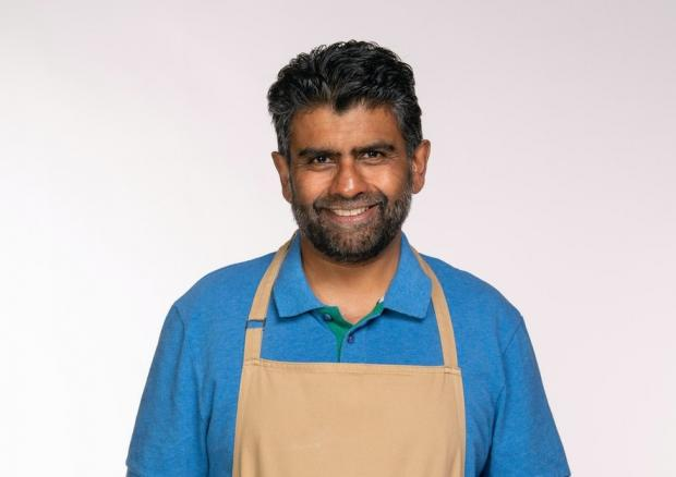 Daily Echo: Makbul is a self-taught baker whose strengths lie in pastry (C4/Love Productions/Mark Bourdillon)