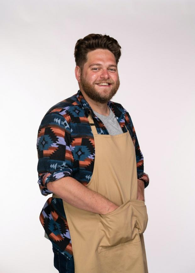 Daily Echo: Mark will put his skills in the kitchen to the test when taking part in The Great British Bake Off (C4/Love Productions/Mark Bourdillon)