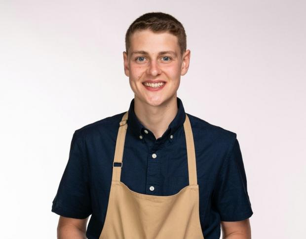 Daily Echo: Peter has been baking since he was a child and will be hoping his experience counts when it matters (C4/Love Productions/Mark Bourdillon)
