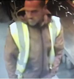 Daily Echo: CCTV image of a man police want to speak to in connection with a burglary at The Standing Order, Southampton