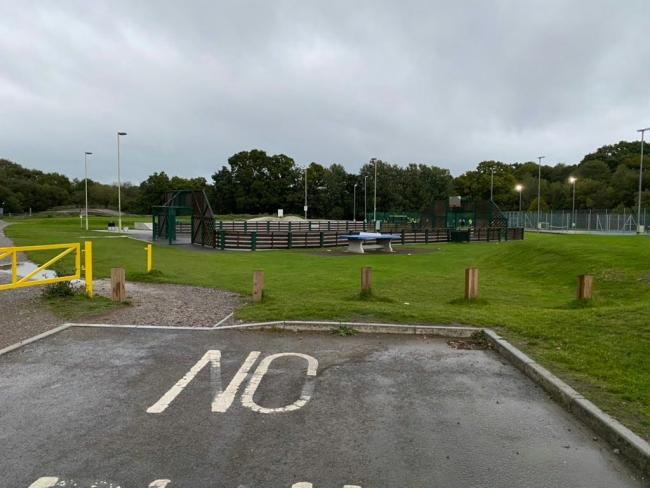 Knightwood Leisure Centre. Photo from: Test Valley Cops Facebook
