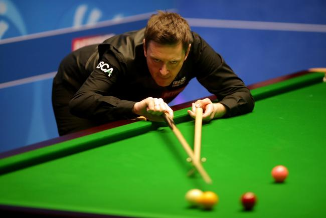 Ricky Walden eased past Marchwood's Billy Joe Castle (Picture: PA)